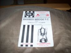 Bamber Bridge v Prescot Cables, 1992/93 [TFT]